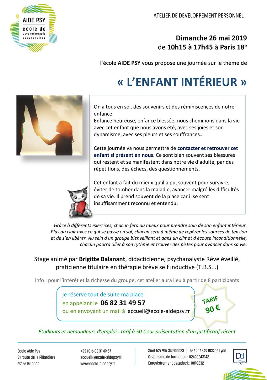 Enfant_interieur_AIDE_PSY_Brigitte_Balanant_PARIS_26_05_2019 - Ecole AIDE Psy
